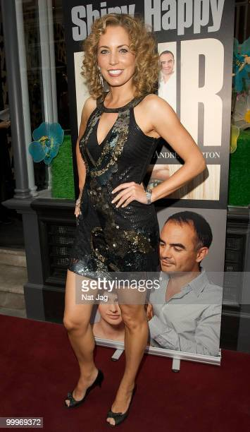 Actress Jasmine Harman attends the book launch for Andrew Barton's Shiny Happy Hair on May 18 2010 in London England
