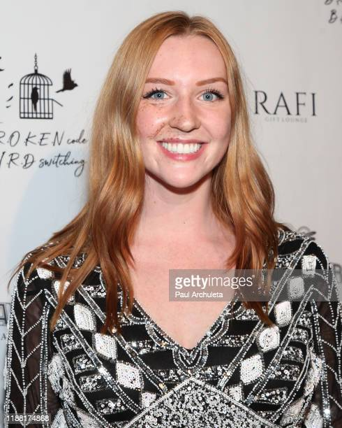 Actress Jasmine Haver attends the media night preview of BROKEN Code BIRD Switching at S Feury Theater on November 16 2019 in Los Angeles California