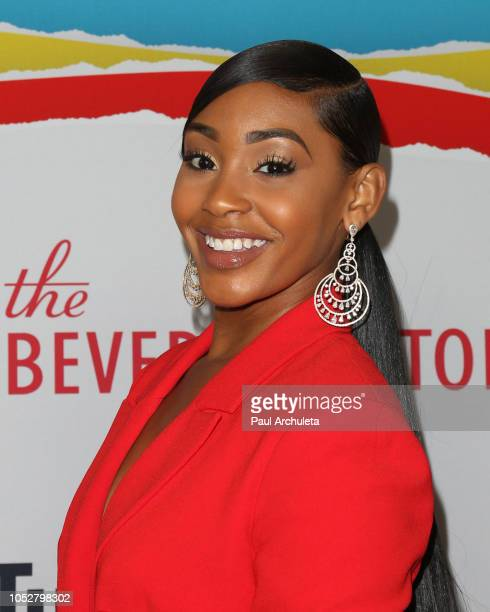 Actress Jasmine Luv attends the 8th Annual Streamy Awards at The Beverly Hilton Hotel on October 22 2018 in Beverly Hills California
