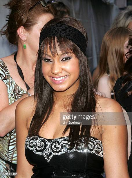 Actress Jasmine Richards attends the Camp Rock premiere on June 11 2008 at the Ziegfeld Theatre in New York