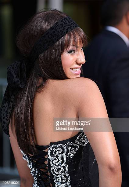 Actress Jasmine Richards attends the Disney Channel Premiere of Camp Rock on June 11 2008 at the Ziegfeld Theatre in New York City