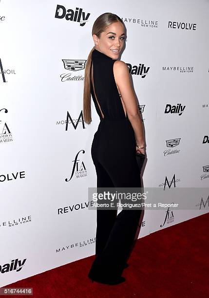 """Actress Jasmine Sanders attends the Daily Front Row """"Fashion Los Angeles Awards"""" at Sunset Tower Hotel on March 20, 2016 in West Hollywood,..."""