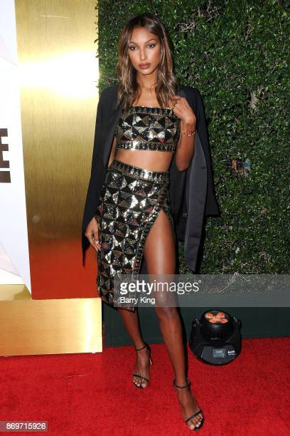 Actress Jasmine Tookes attends #REVOLVEawards at DREAM Hollywood on November 2 2017 in Hollywood California