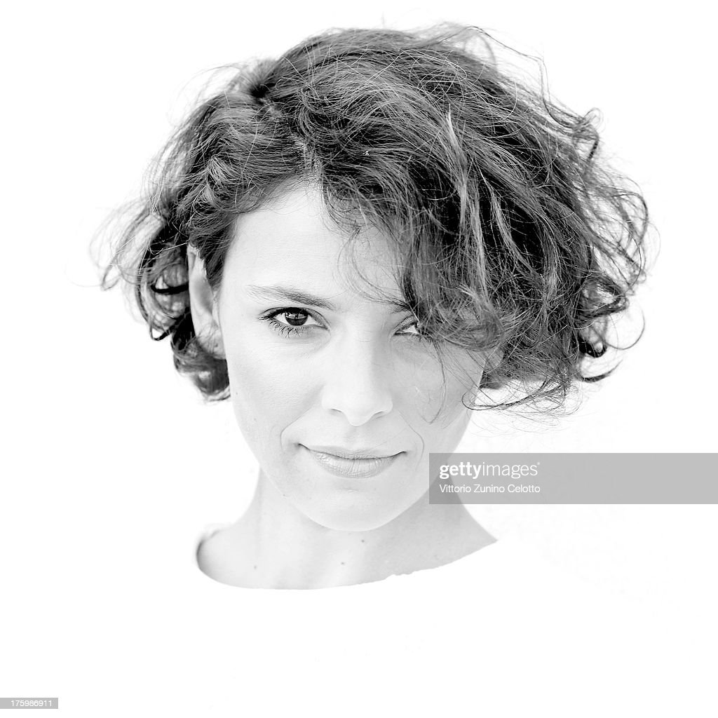 Actress Jasmine Trinca poses for a portrait during the 66th Locarno Film Festival on August 11, 2013 in Locarno, Switzerland.