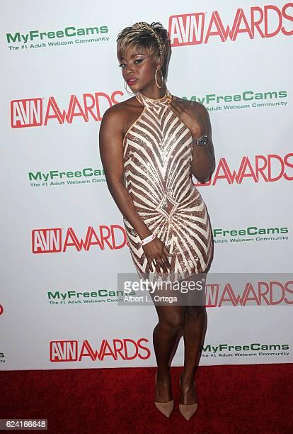 Actress Jasmine Webb arrives for the 2017 AVN Awards Nomination Party held at Avalon on November 17 2016 in Hollywood California