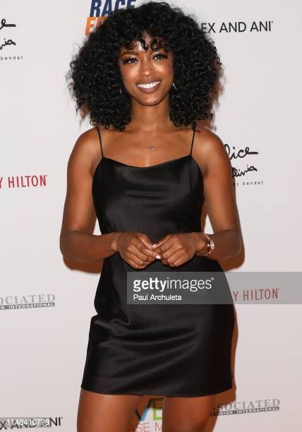 Actress Javicia Leslie attends the 26th annual Race To Erase MS Gala at The Beverly Hilton Hotel on May 10 2019 in Beverly Hills California
