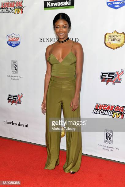 Actress Javicia Leslie attends the premiere of Sony Pictures Home Entertainment's Running Wild at TCL Chinese Theatre on February 6 2017 in Hollywood...