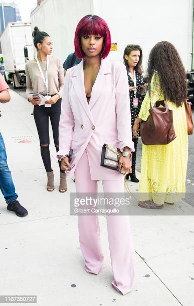 Actress Javicia Leslie is seen arriving to S by Serena Williams Fashion Show during New York Fashion Week on September 10 2019 in New York City