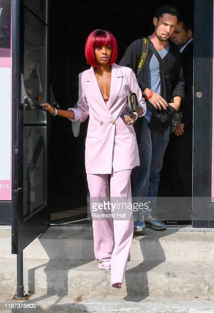 Actress Javicia Leslie is seen arriving to S by Serena Williams Fashion Show during New York Fashion Wee on September 10 2019 in New York City