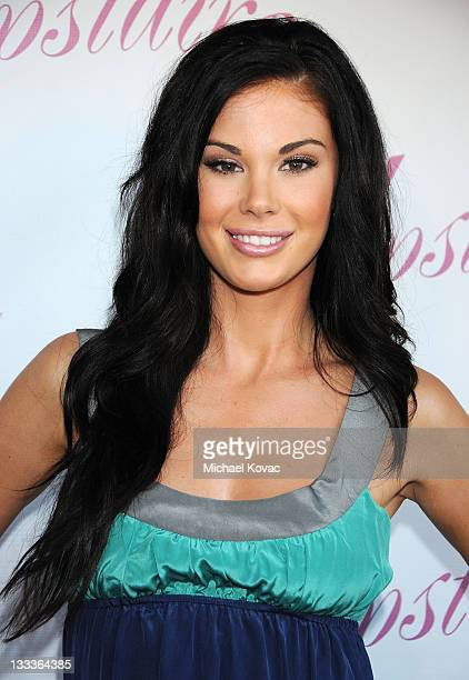 Actress Jayde Nicole arrives at A Night Upstairs Grand Opening of Upstairs Boutique at Upstairs Boutique on July 30 2009 in West Hollywood California