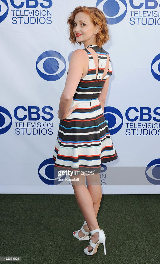 Actress Jayma Mays arrives at the CBS Summer Soiree at The London West Hollywood on May 19, 2014 in West Hollywood, California.