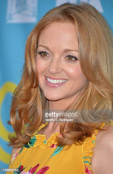 Actress Jayma Mays arrives to The Academy of Television Arts Sciences' screening of Fox's Glee at Leonard Goldenson Theatre on May 1 2012 in North...