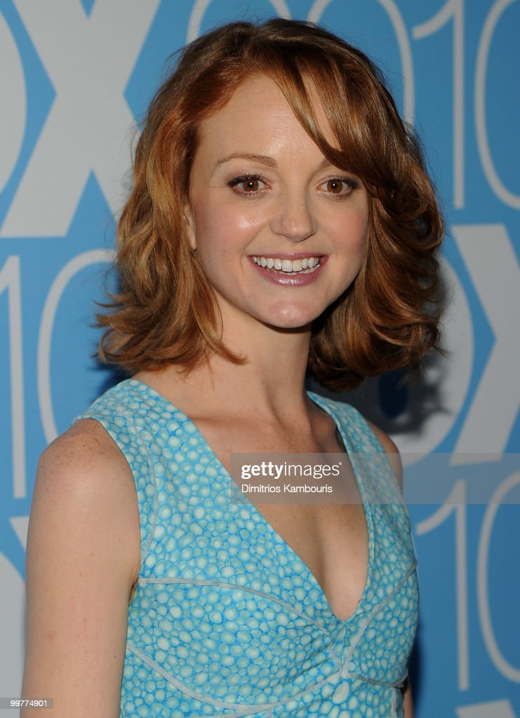 Actress Jayma Mays attends the 2010 FOX Upfront after party at Wollman Rink, Central Park on May 17, 2010 in New York City.