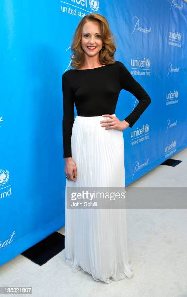 Actress Jayma Mays attends the 2011 UNICEF Ball presented by Baccarat held at the Beverly Wilshire Hotel on December 8 2011 in Los Angeles California