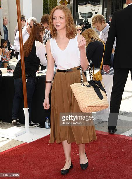 Actress Jayma Mays attends the 8th annual John Varvatos Stuart House benefit at John Varvatos Los Angeles on March 13 2011 in Los Angeles California