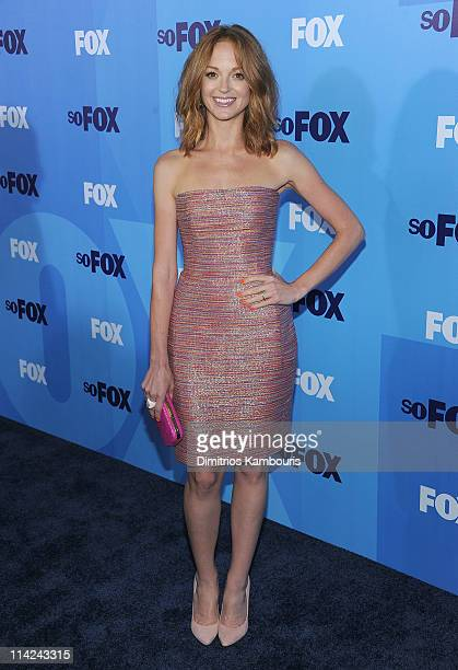 Actress Jayma Mzys attends the 2011 Fox Upfront at Wollman Rink Central Park on May 16 2011 in New York City