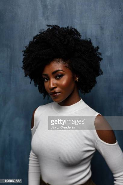 Actress Jayme Lawson form 'Farewell Amor' is photographed in the LA Times Studio at the Sundance Film Festival on January 25 2020 in Park City Utah...