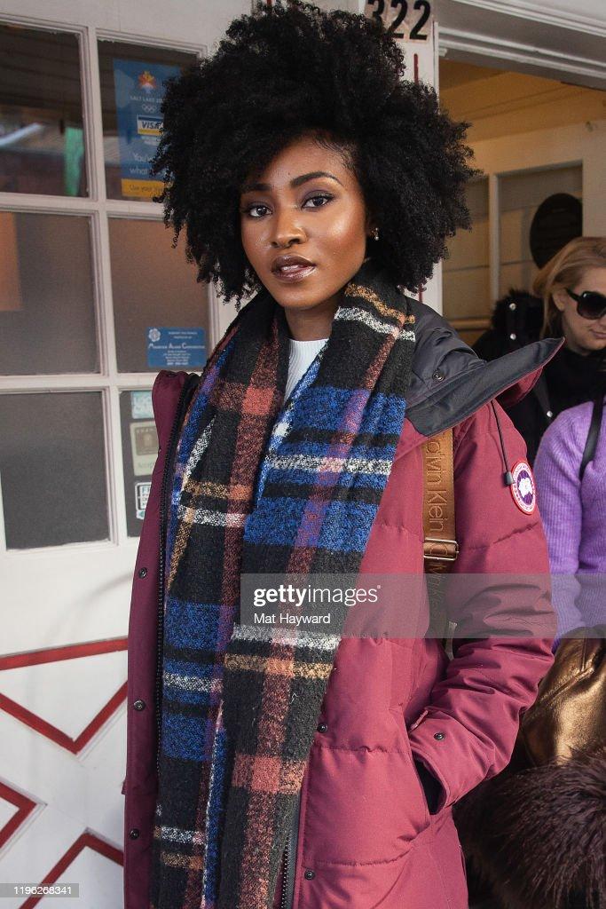 Canada Goose Street Style At Sundance Film Festival 2020 : News Photo