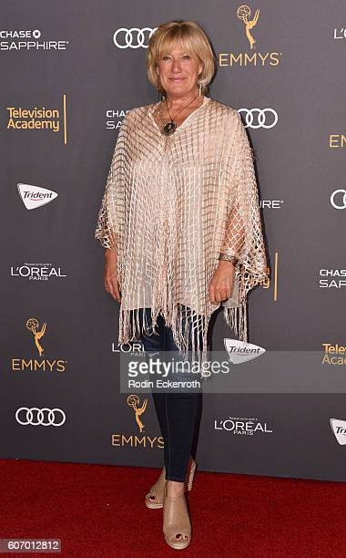 Actress Jayne Atkinson arrives at the Television Academy Reception for EmmyNominated Performers at Pacific Design Center on September 16 2016 in West...