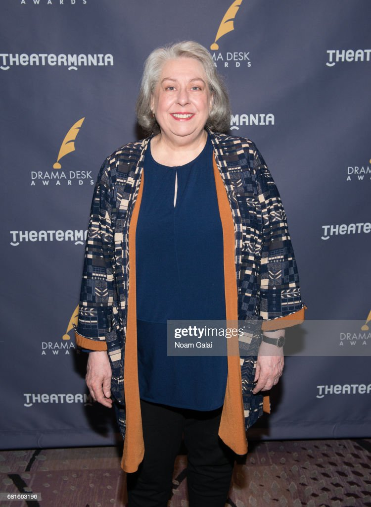 Actress Jayne Houdyshell attends the 2017 Drama Desk Nominees Reception at Marriott Marquis Times Square on May 10, 2017 in New York City.