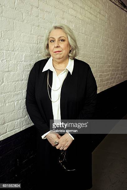 Actress Jayne Houdyshell is photographed for New York Times on May 5 2016 in New York City