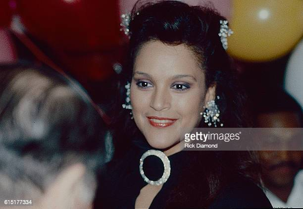 Actress Jayne Kennedy attends reception at The Limelight in Atlanta Georgia Circa 1981