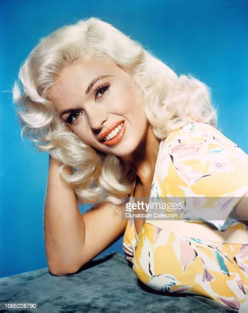"""Actress Jayne Mansfield in a scene from the movie """"Kiss Them for Me"""""""