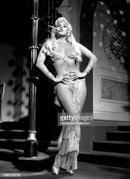 Actress Jayne Mansfield in a scene from the movie Playgirl After Dark