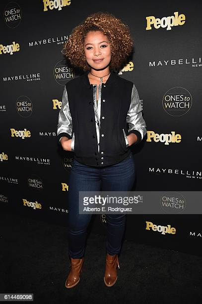 Actress Jaz Sinclair attends People's Ones to Watch event presented by Maybelline New York at EP LP on October 13 2016 in Hollywood California