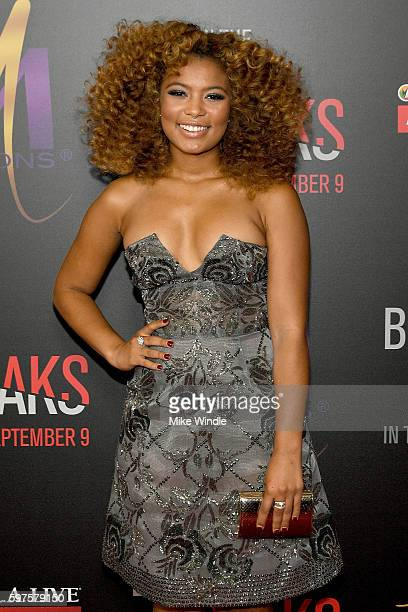 Actress Jaz Sinclair attends the premiere of Sony Pictures Releasing's When The Bough Breaks at Regal LA Live Stadium 14 on August 28 2016 in Los...