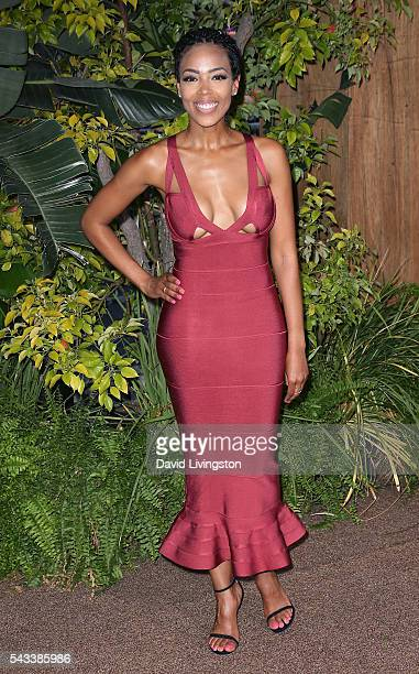 Actress Jazmyn Simon attends the premiere of Warner Bros Pictures' The Legend of Tarzan at the Dolby Theatre on June 27 2016 in Hollywood California