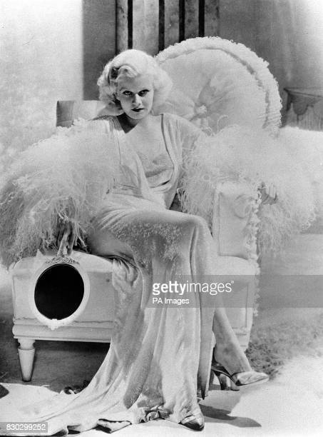 Actress Jean Harlow in a scene from Personal Property