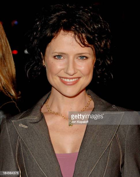Actress Jean Louisa Kelly arrives at the Los Angeles premiere Juno at the Mann Village Theater on December 3 2007 in Westwood California