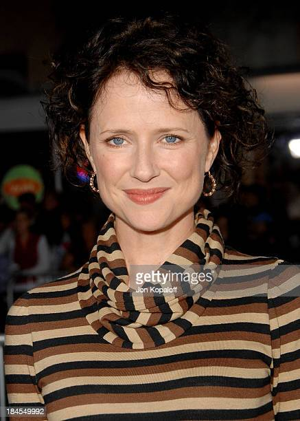 Actress Jean Louisa Kelly arrives at the Los Angeles Premiere The Kingdom at the Mann Village Theater on September 17 2007 in Westwood California