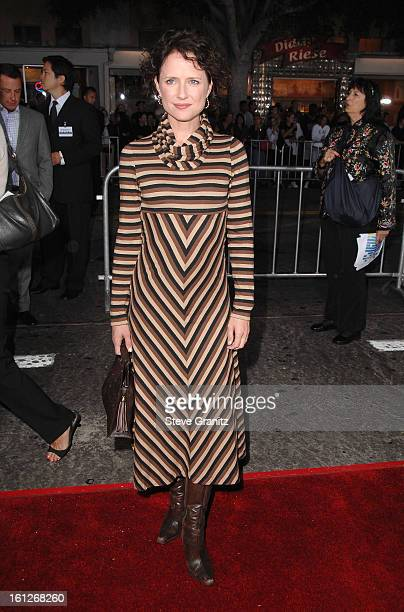 Actress Jean Louisa Kelly arrives at the Mann's Village Theatre for the Los Angeles Premiere of The Kingdom on September 17 2007 in Westwood...