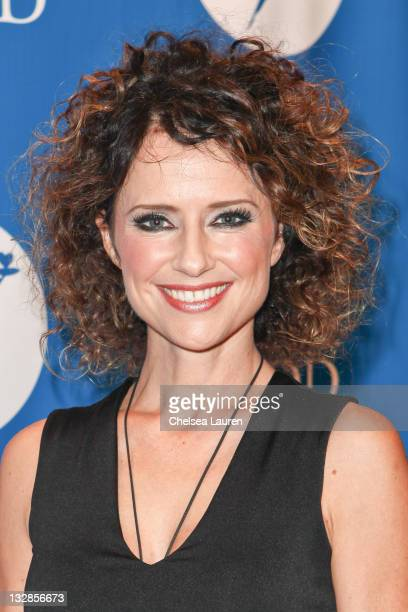 Actress Jean Louisa Kelly arrives at the Project Angel Food benefit concert at The Howard Fine Theatre on November 12 2011 in Hollywood California