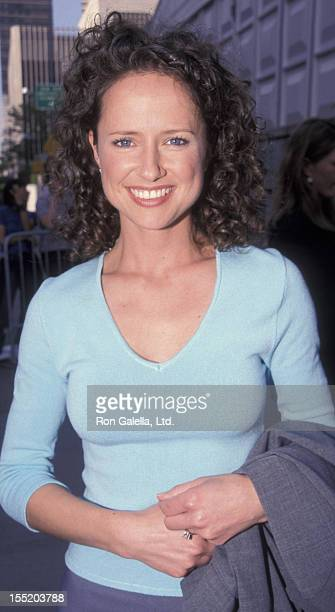 Actress Jean Louisa Kelly attends NBC TV Affiliates Party on May 17 1999 at Avery Fisher Hall at Lincoln Center in New York City