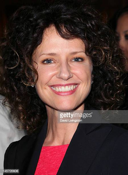 Actress Jean Louisa Kelly attends the opening night of No Way Around But Through at the Falcon Theatre on June 3 2012 in Burbank California