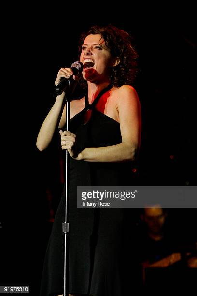 Actress Jean Louisa Kelly performs at The Howard Fine Theatre on October 17 2009 in Hollywood California
