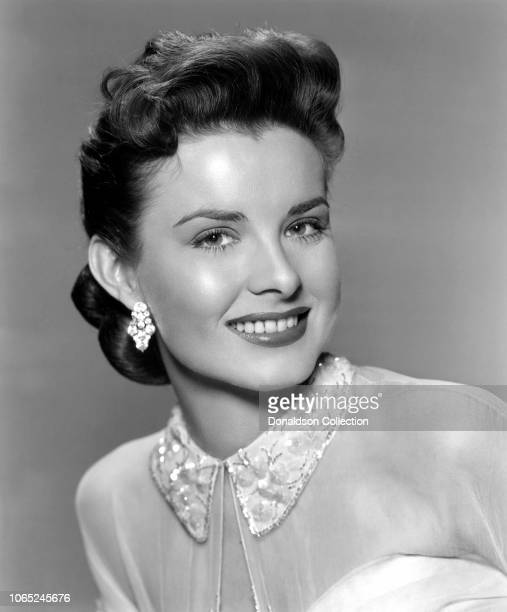 """Actress Jean Peters in a scene from the movie """"A Blueprint for Murder"""""""