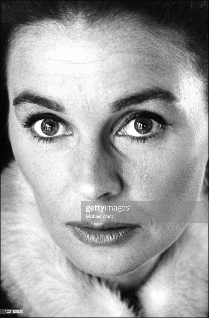 Actress Jean Simmons, 1965.