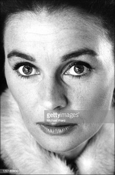 Actress Jean Simmons 1965