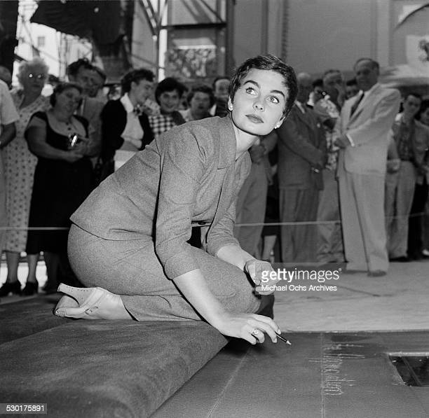 jean simmons stock photos and pictures getty images