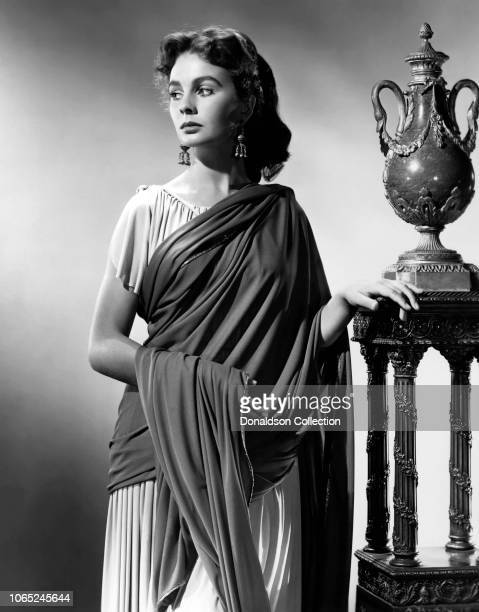Actress Jean Simmons in a scene from the movie Androcles and the Lion
