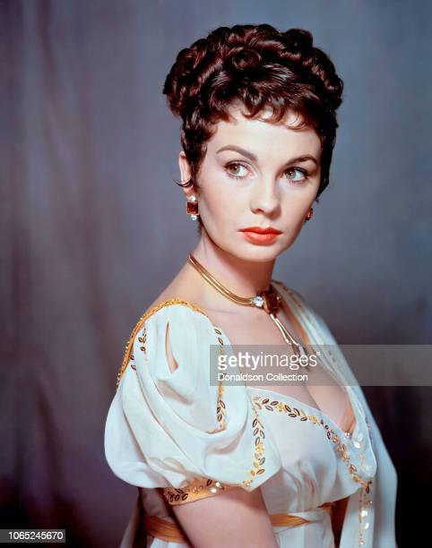 Actress Jean Simmons in a scene from the movie Desiree