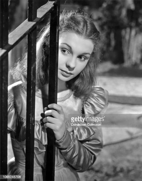Actress Jean Simmons in a scene from the movie Great Expectations