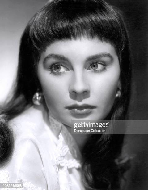 Actress Jean Simmons in a scene from the movie The Clouded Yellow