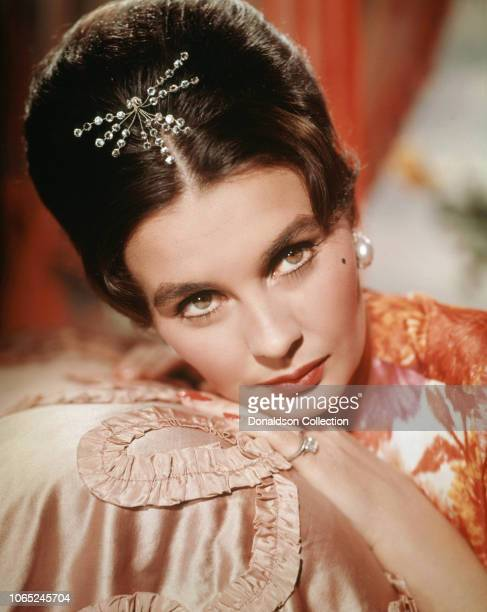Actress Jean Simmons in a scene from the movie The Grass Is Greener