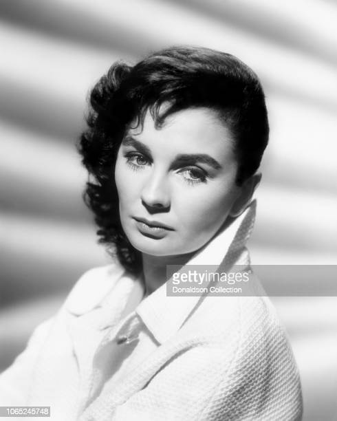Actress Jean Simmons in a scene from the movie Until They Sail