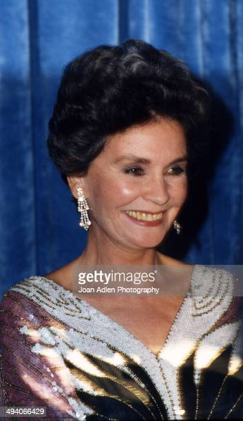 Actress Jean Simmons wins award for Outstanding Supporting Actress in a Limited Series or a Special The Thorn Birds at the 35th Annual Primetime Emmy...